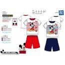 Mickey - pyjacourt T-Shirt & sh 100% coton