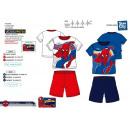 Spiderman - pyjacourt T-Shirt & sh 100% coton