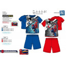 Spiderman - Pyjacourt T-Shirt & sh 100% Baumwo