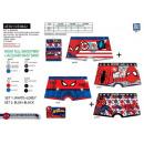 nagyker Licenc termékek: Spiderman - 2. tétel bokszolók 95% pamut / 5% vi