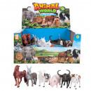 grossiste Jardin et bricolage: animal de compagnie 15cm pc, mix6 na Presentoir