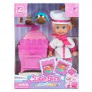 Großhandel Puppen & Plüsch: Puppe 12cm + Zubehör mc cook Fensterbox