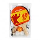mayorista Deporte y ocio: raquetas de ping pong + 3 pelotas + red 19x29x4