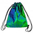 Tasche mit Pailletten Starpak grünen Beutel