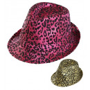 wholesale Toys: animalier sequined fedora 2 colors assorted, Hat