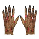 """para lateksowych """"rąk zombie"""", rozmiar: (jeden roz"""