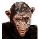 chimpansee 3/4 open mondmasker voor kinderen , ho