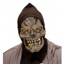 wholesale Working clothes:  grim reaper half  face hooded foamlatex mask for c