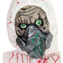 Bio hazard half gezichtsmasker  - voor mannen