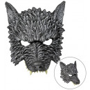 wolf chinless foam latex mask , Hutgröße: 0 - fo
