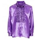 ingrosso Giocattoli:  viola raso  camicia volant ,  Dimensione: (XL) - ...