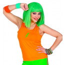 neon orange tank top, Size: (One Size Fits Most Ad