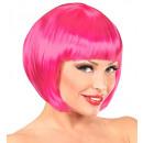 Hot pink chanel Perücke  in PE-Beutel - für Fraue