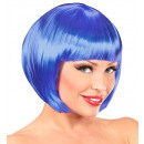 Blau chanel Perücke  in PE-Beutel - für Frauen