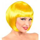 Gelb chanel Perücke  in PE-Beutel - für Frauen