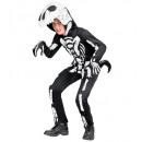 """""""szkielet t-rex"""" (kombinezon z maską z kapturem),"""