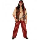 ingrosso Moda e tradizione:  Pirata  (camicia  con gilet e la cintura, pantalon