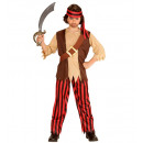 ingrosso Ingrosso Abbigliamento & Accessori:  Pirata  (camicia  con gilet e la cintura, pantalon
