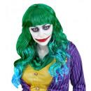 böse Jokerperücke im Polybeutel, Hutgröße: 0 - f