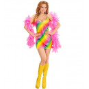 Girl rainbow  (robe), Taille: (S) - pour les femm