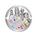 wholesale Toys: silver make-up in tray - 25 g, Hat size: 0 - fo