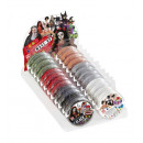 groothandel Overigen: Display doos met   24 make-up in tray  25 g (4 wit,