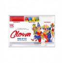 clown makeup set (4 makeup sticks, red & white m