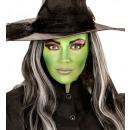 witch makeup set (4 makeup sticks, black & green