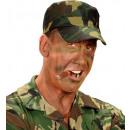 soldier makeup set (4 makeup sticks, brown & gre