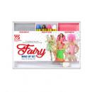 fairy makeup set (4 makeup sticks, silver & pink