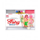 fairy makeup set (4 makeup sticks, silver & pink