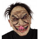 stranger half face mask with hair , Hat size: 0 -