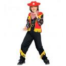groothandel Speelgoed: 'Cowboy' (vest met ster, broek, riem, band