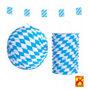 wholesale Gifts & Stationery:  bavarian decor  set: flag garland 4 m, paper ball