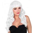 groothandel Woondecoratie: witte bella pruik in doos - voor dames