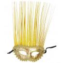 Maschera d'oro con lo stemma olografico - pe