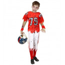wholesale Sports Clothing: zombie american football player (stuffed t-shirt