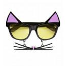 grossiste Jouets: lunettes de chat avec la moustache - pour les ad