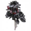 Großhandel Home & Living: Halloween Brautstrauß mit schwarzen & ...