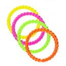 Set di 4 anelli al neon  - per le donne