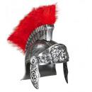 Verouderde  zilveren Romeinse helm  - voor mannen