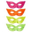 Großhandel Spielwaren: Katzenauge neon eyemask 4 Farben ass. - Für wo