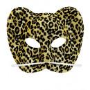 Floccato scintillio maschera di leopardo - per l