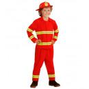 firefighter   (jacket, pants, helmet), Size: (104