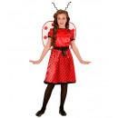 Großhandel Spielwaren: Marienkäfer (Kleid, Unterrock, Bogengurt, flügel