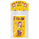 wholesale Greeting cards: set of 6 clown invitation cards with envelope