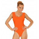 wholesale Working clothes:  orange sleeveless  body  (buttons closure), Size: