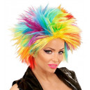 rainbow punk wig  in box -  for women