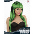 ingrosso Giardinaggio & Bricolage:  Striature moda  nero-verde  parrucca  in ...