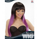 wholesale Garden & DIY store:  black-purple fade  in color wig  in box -  for wom